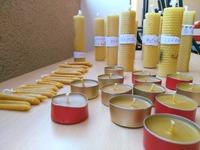 Atelier « Fabrication de bougies de cire d'abeilles »