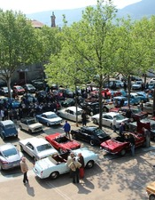 Rassemblement de voitures anciennes