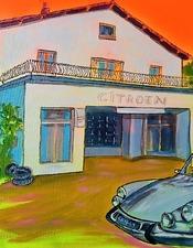 La Station autogalerie fête le centenaire Citroën
