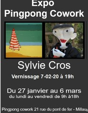 Exposition Sylvie Cross (PingPong co-work)