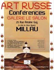 Conférences Art Russe, galerie le Salon