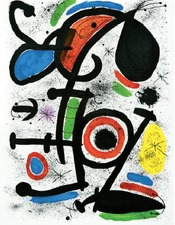 Querelle d'amoureux 2, Joan Miro, 1981, galerie Lelong Paris