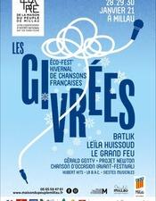Les Givrées, fest'hivernal de chansons - Théâtre de la Maison du Peuple - ANNULÉ