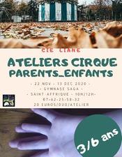 Atelier Cirque , parents-enfatns