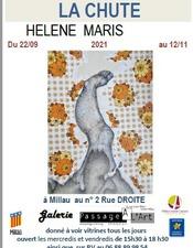 Affiche exposition Hélène Maris