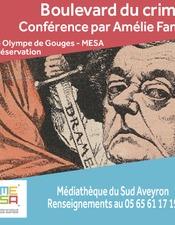 Conférence Boulevard du crime (Festival Polar Vin et Cie) - MESA