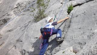 Roc et Canyon - escalade -  rappel - Millau