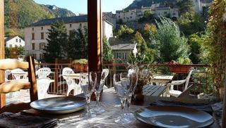 Hôtel Doussiere - Restaurant l'Alicanta - Le Rozier