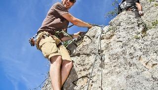 Roc et Canyon - Le Vallon des tyroliennes / Parcours Aventure - Millau