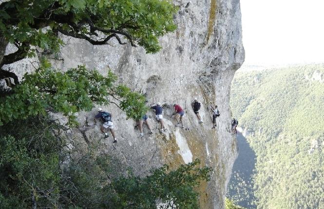 Roc et Canyon - Via ferrata 2 - Millau