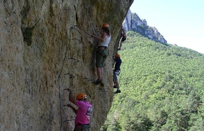 Roc et Canyon - Via ferrata 4 - Millau