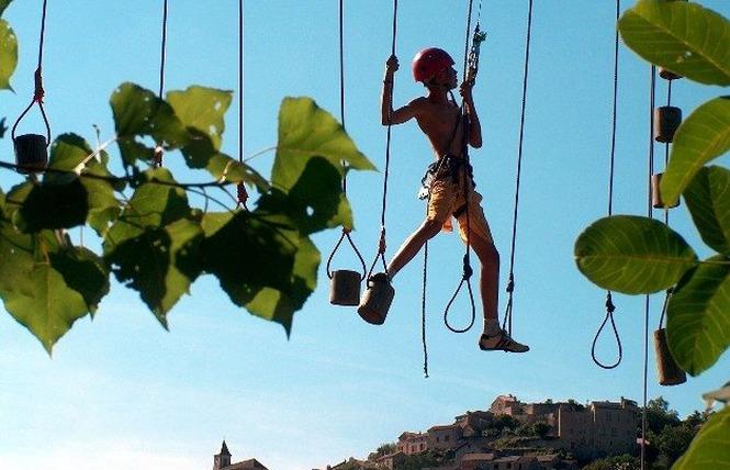 Acroparc du Mas - Parcours aventure 5 - Aguessac
