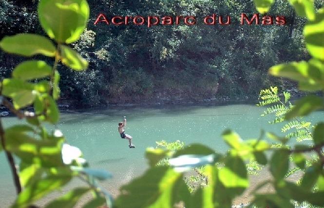 Acroparc du Mas - Parcours aventure 9 - Aguessac