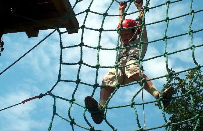 Acroparc du Mas - Parcours aventure 10 - Aguessac