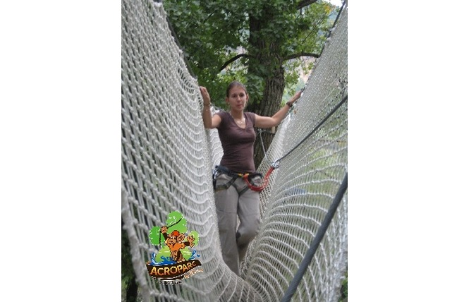 Acroparc du Mas - Parcours aventure 4 - Aguessac