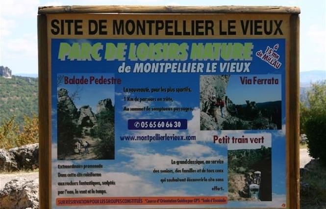 La Cité de Pierres à Montpellier-Le-Vieux 7 - Millau