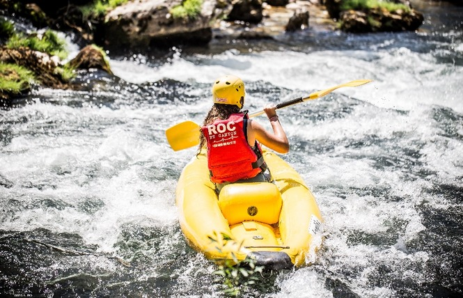 Roc et Canyon - Raft / Hotdog (mini-raft) 2 - Millau