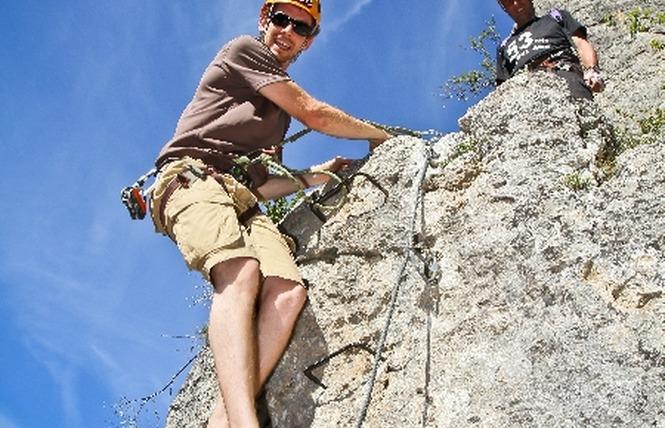 Roc et Canyon - Le Vallon des tyroliennes / Parcours Aventure 1 - Millau
