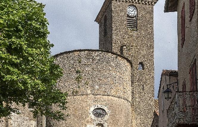 Commanderie Templière et Hospitalière de Ste-Eulalie de Cernon 9 - Sainte-Eulalie-de-Cernon