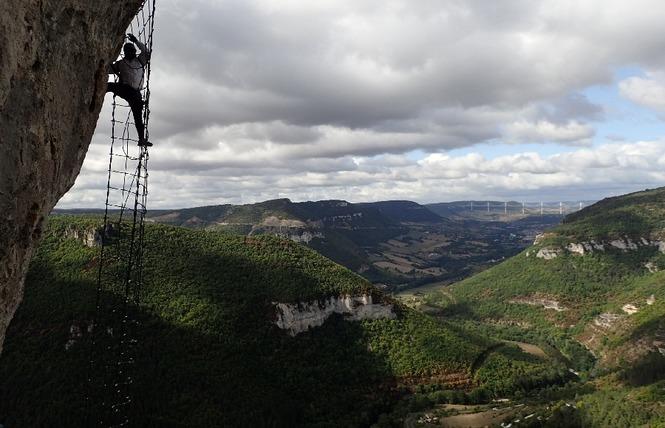 Grimpe et Cimes - Via Ferrata 3 - Millau