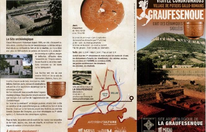 Journées Européennes du Patrimoine - Site archéologique de la Graufesenque 4 - Millau
