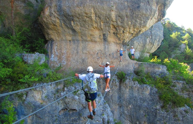 B&ABA Sport Nature - Via Ferrata 2 - Millau