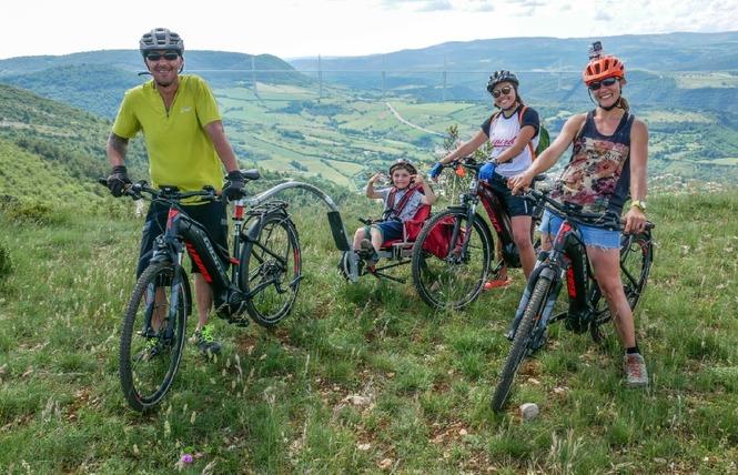 Crazy e-Bike - Location de VTT / VTC électriques 6 - Millau