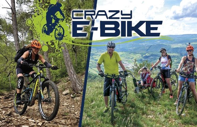Crazy e-Bike - Location de VTT / VTC électriques 1 - Millau