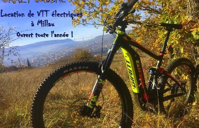 Crazy e-Bike - Location de VTT / VTC électriques 9 - Millau