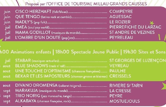 Festival des Sites et des Sons 2021 (12e année) 2 - Millau