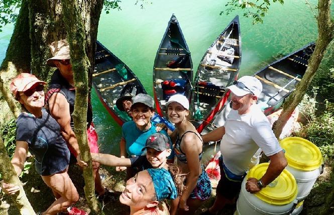 Canoescapade - Canoë et Randonnée canoë accompagnée 10 - Comprégnac