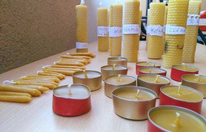 Atelier « Fabrication de bougies de cire d'abeilles » 1 - Saint-Affrique